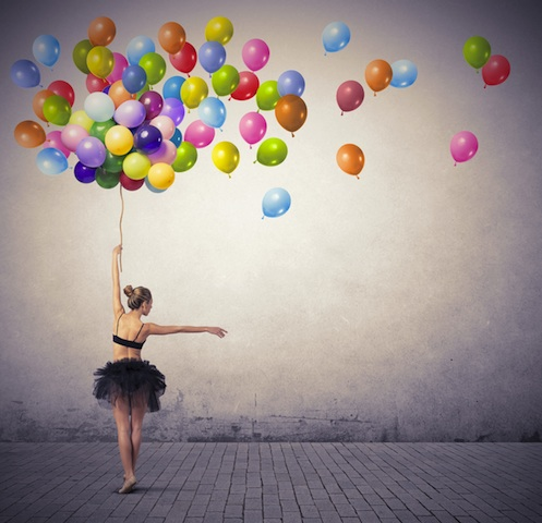 danza palloncini